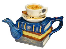 """You can never get a cup of tea large enough or a book long enough to suit me"" (CS Lewis)"