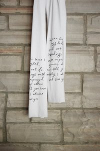 Mr Darcy's proposal scarf
