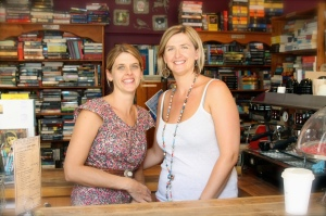 Sisters, Lucinda and Natalie, run The River Read at Noosaville