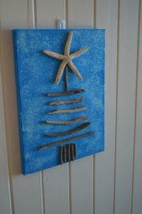 Beach shack wall hanging
