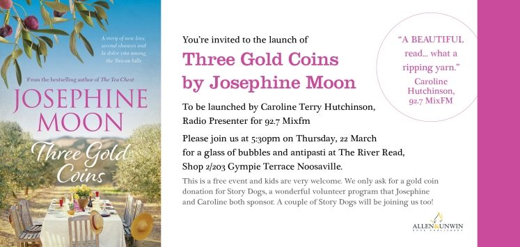 Three Gold Coins Invite